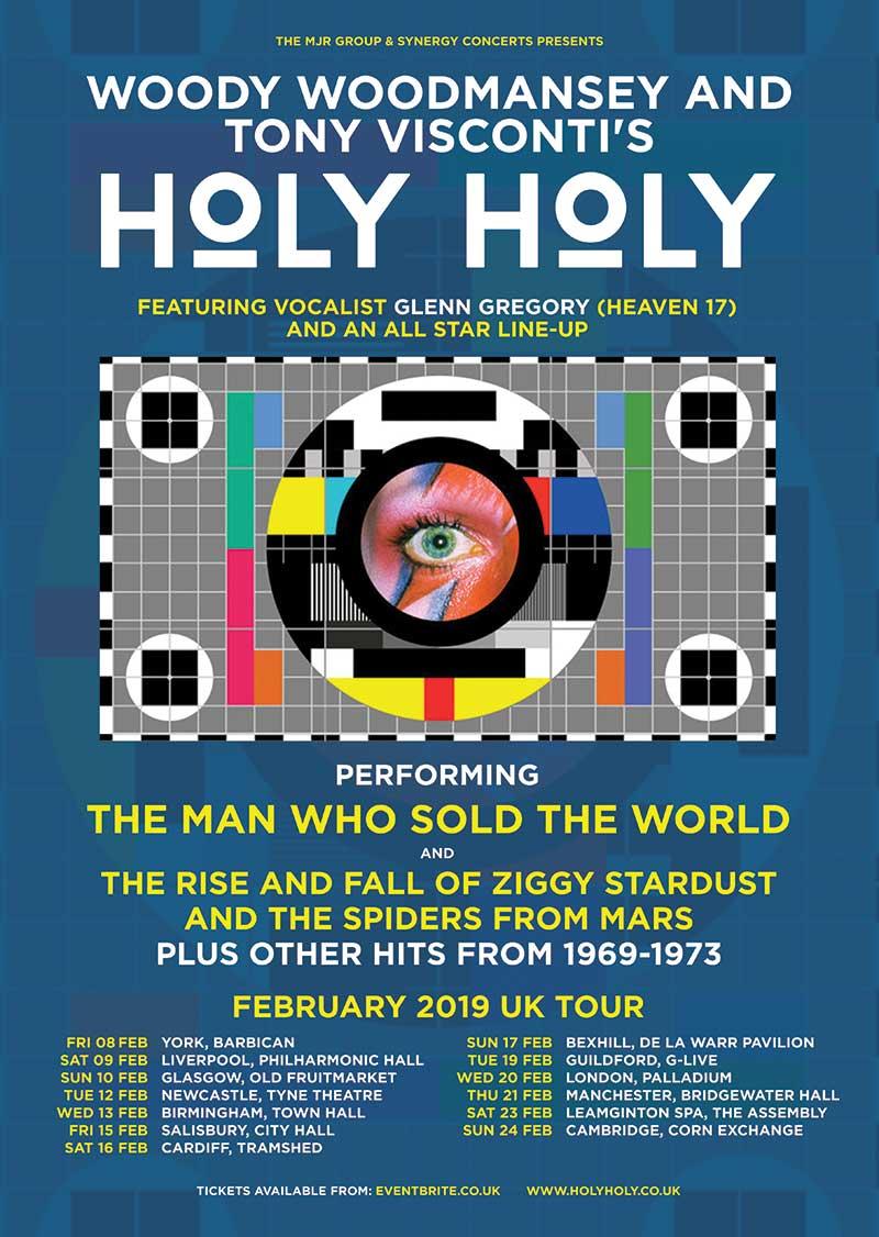 UK Tour 2019 — Holy Holy